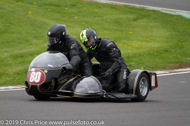CRMC Castle Combe 2019 - Race 14 Classic Sidecars