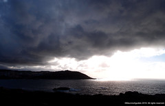 A Coruña (Ivan Mauricio Agudelo Velasquez) Tags: sunset atardecer horizonte mar litoral sol cloud nube sea spain españa europa