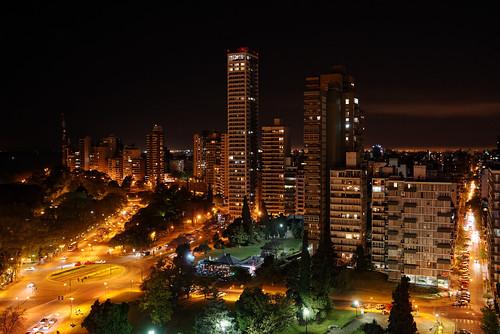 Rosario por la noche