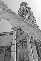 Diocletian's Palace (joyhhs) Tags: 2018 august summer split croatia palace architecture bw canon on1 photography