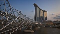 Helix Bridge (joyhhs) Tags: 2019 february singapore marinabaysands helixbridge landscape architecture city canon on1 photography