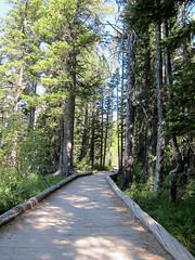 String Lake Trail (pr0digie) Tags: grandteton nationalpark hike hiking trail stringlake leighlake lake mountain mountains