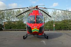 London's Air Ambulance in Cricklewood (kertappa) Tags: img6832 air ambulance londons london hems doctor paramedics hospital gehms emergency helicopter kertappa broadway retail park cricklewood