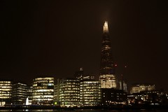 Thames bank 4, (The Shard, year 2343) (Jano_Calvo) Tags: theshard thames river night thecity citylights buildings architecture bank council london outdoors england unitedkingdom sony a6000 ilce alpha mirrorless sigma art 30mm urban street