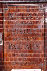 Pub sign (Ian Press Photography) Tags: pub sign signage public house london meuxs meux stout ale pale tile tiles