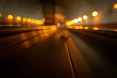 Rosslyn Metro Escalator Abstract (jtgfoto) Tags: rosslyn washingtondc washington virginia sonyimages sonyalpha cityscape rosslynmetro metro abstract bokeh lights