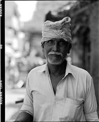(Jerry501) Tags: kodak125px expiredfilm pentax67 street trichy india portrait bnw blackandwhite analog