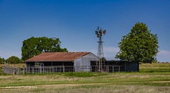 The Ranch (Kool Cats Photography over 12 Million Views) Tags: barn windmill landscape farm pasture oklahoma green sky photographylandscapephotography ranch trees rural photography fencew grass