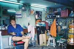 barber shop (subway rat) Tags: 35mm analog film analogphotography filmphotography mjuii mju2 olympusmjuii olympus μmjuii kodakultramax400 kodak kodakfilm bangkok thailand asia streetphoto streetphotography everybodystreet streetlife ishootfilm filmforever filmisnotdead shootfilm staybrokeshootfilm filmcamera