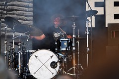 386-20180603_14th Wychwood Music Festival-Cheltenham-Gloucestershire-Main Stage-Feeder-drums (Nick Kaye) Tags: wychwood music festival cheltenham gloucestershire england