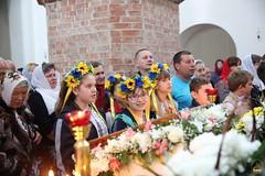43. Пасхальная вечерня в соборе г. Святогорска 28.04.2019