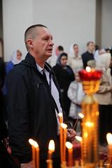 31. Пасхальная вечерня в соборе г. Святогорска 28.04.2019