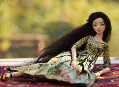 Tsuki in sunlight (stashraider) Tags: marina bychkova enchanted doll porcelain spring jointed