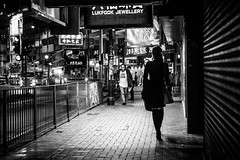 Hong Kong nights (Piotr_PopUp) Tags: kingsroad northpoint hongkong blackandwhite blackwhite bw bnw street streetphotography candid spotted people urban night nightlights nightshot asia