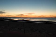 #280419 - La mar (RomxnJota) Tags: sunlight sunset sun mar mediterráneo cloudy nubes puesta de sol cielo sky grey gris beach playa paisaje 1855mm canon 77d arena nature naturaleza sand calm calma mind oversun