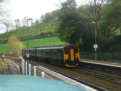 150233 Bodmin Parkway (Marky7890) Tags: gwr 150233 class150 sprinter 2c45 bodminparkway railway cornwall cornishmainline train
