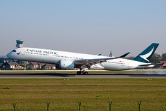B-LRD_20190421_50298_M (Black Labrador13) Tags: blrd airbus a350 a350941 cathay pacific airways bru ebbr avion plane aircraft vliegtuig airliners civil