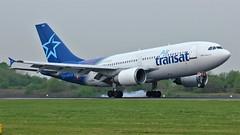 C-GTSH (AnDyMHoLdEn) Tags: airtransat a310 egcc airport manchester manchesterairport 05r
