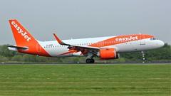 G-UZHG (AnDyMHoLdEn) Tags: easyjet a320 neo egcc airport manchester manchesterairport 05r