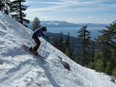 Closing Day on the Face at Heavenly (benjaminfish) Tags: ski lake tahoe heavenly spring skiing kid april 2019 snow