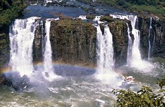 Bow in the Falls...  Foz do Iguaçu (vincenzooli) Tags: fujiprovia rainbow waterfall brazil nikonf6 brasil
