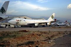 Boeing 747-2B46 N203AE Middle East Airlines (M.E.A.) (EI-DTG) Tags: bey beirutairport rafichariri n203ae b747 boeing747 queenoftheskies jumbojet mea middleeastairlines lebanon