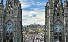 Cathedrals 5 (orientalizing) Tags: church ecuador cityscape architecture center landscape basilicadelvotonacional quito