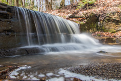 Small waterfall in South Chagrin (kevincarlvail) Tags: waterfalls waterfall water ohio southchagrinreservation clevelandmetropark clevelandmetroparks park