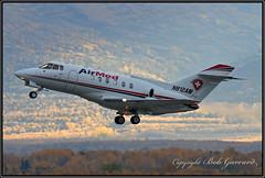 N812AM Air Med (Bob Garrard) Tags: n812am air med british aerospace bae125 800 anc panc