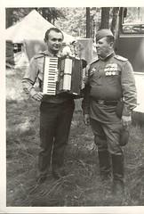 9 мая 1982 г., Дубовка, учебный центр. Чествование танковой армии. Бусел