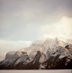 Mountains in Banff (deep cut version) (Brjann.com) Tags: mountains banff alberta canada mountainscape analog film medium format 120 kodak kodakfilm portra160 portra 160 kp160 landscape photography
