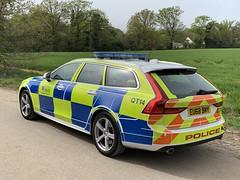 Volvo V90 Essex Police Traffic Car (Mike's Code 3 Models) Tags: volvo v90 essex police traffic car eu68bmy qt14 rpu roadspolicing a12
