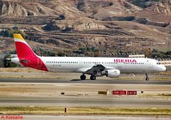 IBERIA A321 EC-JZM (Adrian.Kissane) Tags: iberia a321 madrid ecjzm 6112018 2996 runway airbus jet plane aircraft hill airbus321 spain aeroplane airliner takeoff airport