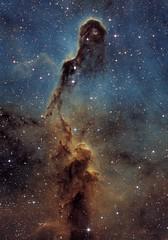 Elephant's Trunk nebula - Hubble Palette (Astrolights.de) Tags: astrophotography astro elephantstrunknebula ic1396 hubblepalette zwoasi183mmpro
