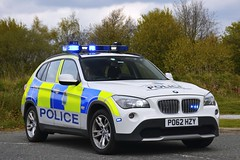 PO62 HZY (S11 AUN) Tags: merseyside police bmw x1 xdrive23d 4x4 anpr traffic car roads policing unit rpu motor patrols nwmpg northwestmotorwaypolicegroup 999 emergency vehicle po62hzy