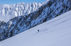 Random Descent_ (Omega Guiding) Tags: ski skiing french alps alpine powder mountains