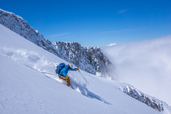 Connor Montets 1 (Omega Guiding) Tags: ski skiing french alps alpine powder mountains