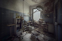 Basement Operating Clinic (andre govia.) Tags: abandoned andregovia decay decayed derelict decayedbuildings hospital