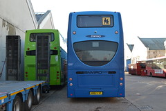 Go South Coast 1507 HW62CVF (Will Swain) Tags: eastleigh barton park 20th october 2018 bus buses transport travel uk britain vehicle vehicles county country england english south industrial estate hampshire go coast 1507 hw62cvf
