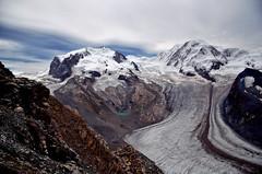 Lyskamm - Zermatt (Massimo Frasson) Tags: kodak kodakelitechromeextracolor svizzera suisse schweiz switzerland confederazionesvizzera confederazioneelvetica cantonvallese distrettodivisp zermatt ferroviadelgornergrat gornergratbahn lyskamm ghiacciaio montagna monti neve vette cielo roccia