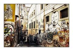 Napoli Walls 19 (Jean-Louis DUMAS) Tags: graphiti streetart wall murs hdr italia italie naples napoli art tag sony travel traveler trip voyage voyageur people personne man