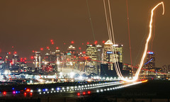 London City Airport - LCY (Seán Noel O'Connell) Tags: londoncityairport lcy eglc longexposure aviation avgeek aviationphotography planespotting nightphotography london