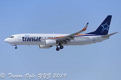 DSC_7153Pwm (T.O. Images) Tags: cgtqx air transat boeing 737 737800 yyz toronto pearson