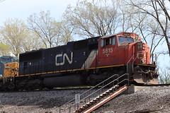 Well-worn (DonnieMarcos) Tags: rail railroad railfanning railway rails railroads railfan trains trainspotting traintrack traintracks train track berwyn berwynil cn cnfreeportsub canadiannational cnr cnm337 cnm33791 m337 m33791 cnrr canadianational chicago chicagorails chicagoland chicagoarea freeport freeportsub iowadivision mp11 sd75 sd75i emdsd75i