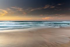 Coastal Sunrise Seascape (Merrillie) Tags: redheadbeach sunrise newcastle dawn newsouthwales sea nsw beach ocean lakemacquarie coastal redhead outdoors seascape landscape coast australia seaside