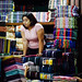 Women in Fabric Market, Yangon Myanmar