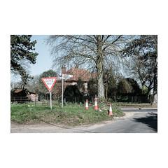 The Street (John Pettigrew) Tags: lines tamron d750 nikon roads rural mundane countryside imanoot banal topographics space cones documentary angles johnpettigrew signs documenting norfolk