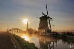 De Kaagmolen, Spanbroek (evb_shots) Tags: holland netherland nederland kaagmolen windmill sunrise spanbroek molen