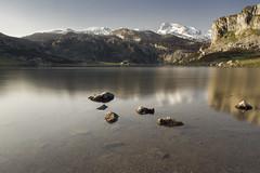 Lago Ercina (U2iano) Tags: lago lake ercina covadonga asturias asturies españa spain picos europa europe landscape reflejo reflection nieve snow paisaje