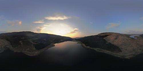 Sunset, Loch Doire nam Mart